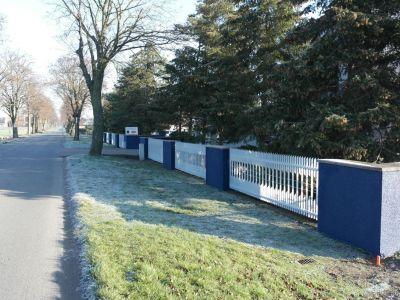 Malowanie ogrodzenia, i elewacji